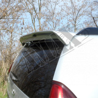Антикрыло (спойлер) черного и серебристого цвета, Тойота Ленд Крузер Прадо_Toyota Lend Cruiser Prado 120 (2003-2008)