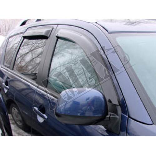 Дефлекторы дверей (ветровики) Mitsubishi Outlander XL