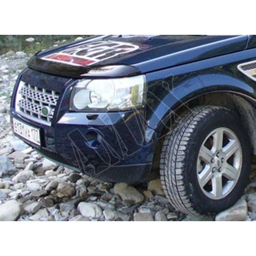 Дефлектор капота (мухобойка) для Land Rover Freelander II
