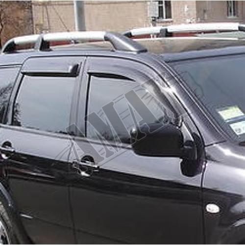 Дефлекторы дверей (ветровики) Mitsubishi Outlander