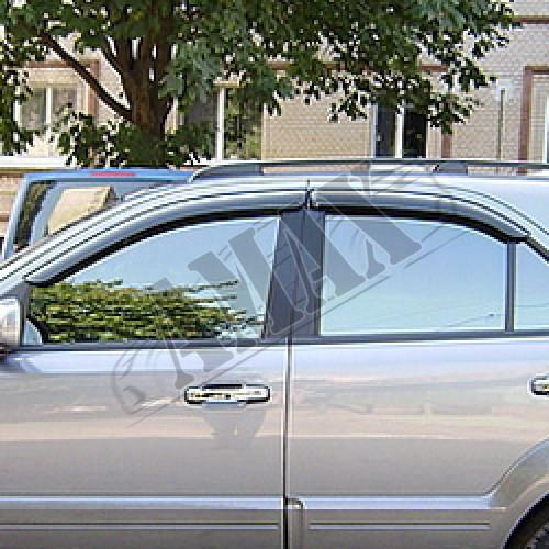 Дефлекторы дверные (ветровики) на Kia Sorento (2003-2009)