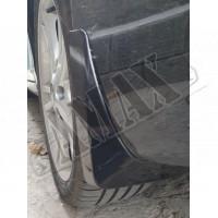 Брызговики пластиковые черный-глянец (комплект 4 шт) Тойота Камри_Тойота Camry 40 (2006-2011)