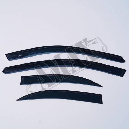 Дефлекторы дверей (ветровики)