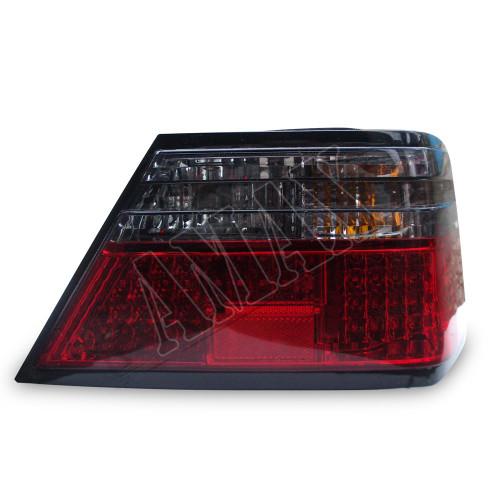 Задние фонари диодные (темные) для Mercedes E-Class W124 86-95