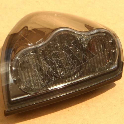 Задние фонари хрустальные (диодные) на Mitsubishi L-200 от 2006 +