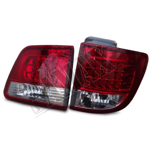 Задние фонари (диодные) на Toyota Fortuner