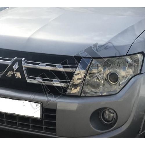Противотуманные фары (ПТФ), Митсубиси Паджеро Вагон_Mitsubishi Pajero Wagon 4 (2007-2015)