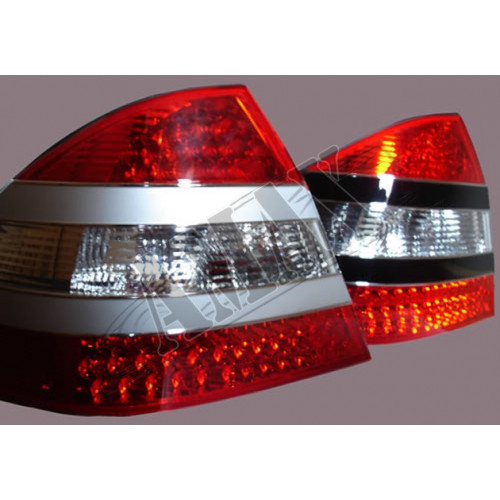 Задние фонари диодные (LED) на Mercedes W-220