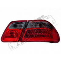 Задние фонари диодные (дымчатые) на Mercedes Benz E Class W210 (96-2001)