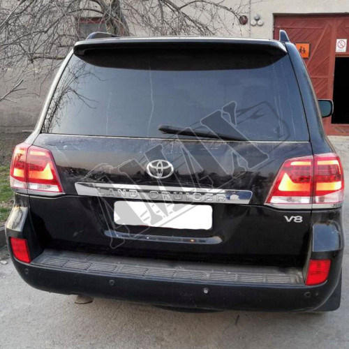 Антикрыло (спойлер) багажники, Тойота Ленд Крузер_ Toyota Lend Cruiser 200 ( 2007-2015)