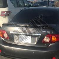 Антикрыло (спойлер) Тойота Королла_Toyota Corolla (2007-2012)