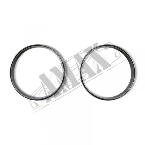 Хром кольца на регулятор печки