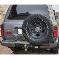 Задние фонари диодные (Red-Black) Тойота Ленд Крузер_Toyota Lend Cruiser 80 (1992-1997)
