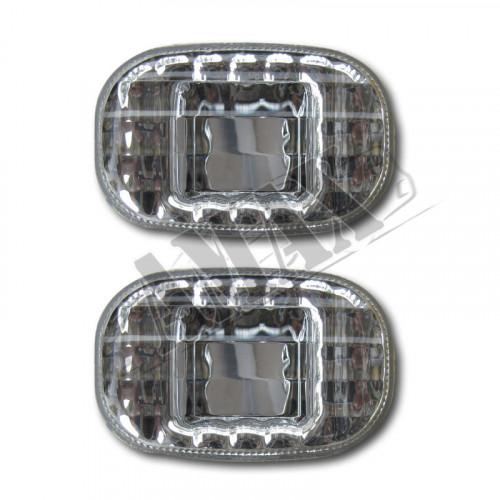 Повторители поворотов хрустальные на Toyota RAV-4