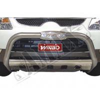 Защитная дуга переднего бампера (кенгурятник) для Hyundai Veracrus