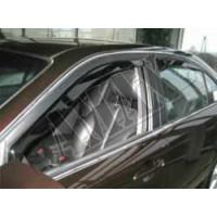 Дефлекторы дверей под резинку для Kia Magentis (ветровики)