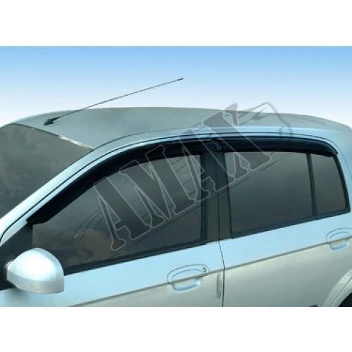 Дефлекторы дверей (ветровики) для Hyundai Getz