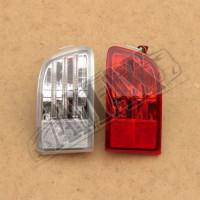 Задние противотуманки, допы, ПТФ, красные / прозрачные, Тойота Ленд Крузер Прадо_Toyota Land Cruiser Prado 120 (2003-2008)