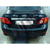 Антикрыло на край багажника (сабля) Тойота Королла_Toyota Corolla (2007-2012)