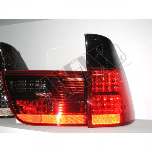 Задние фонари (диодные, красные) для BMW X5