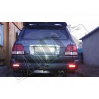 Габаритные огни в задний бампер (диодные) Тойота Ленд Крузер_ Toyota Land Cruiser 100 (1998-2007)