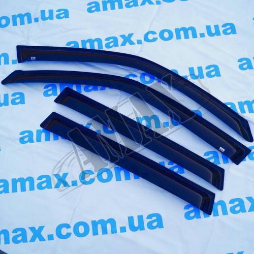 Дефлекторы дверей (ветровики) для Subaru Forester