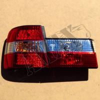 Задние фонари диодные (светлые)_BMW  5 серия E34 (88 - 95)