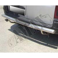 Защитная дуга заднего бампера для Peugeot Partner