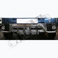 Защитная дуга переднего бампера (кенгурятник) для Subaru Forester