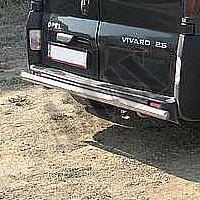 Защитная дуга заднего бампера для Opel Vivaro