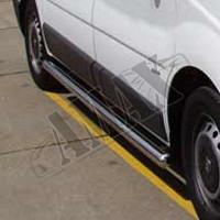 Пороги боковые (трубы) для Opel Vivaro