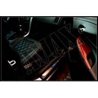 Накладки на пороги с неоновой подсветкой, Тойота Королла_Toyota Corolla