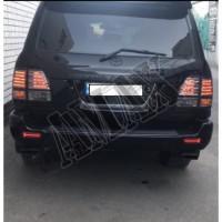 Габаритные светодиодные огни заднего бампера (стиль TRD) Лексус ЛХ_ Lexus LX 470 (1998-2007)