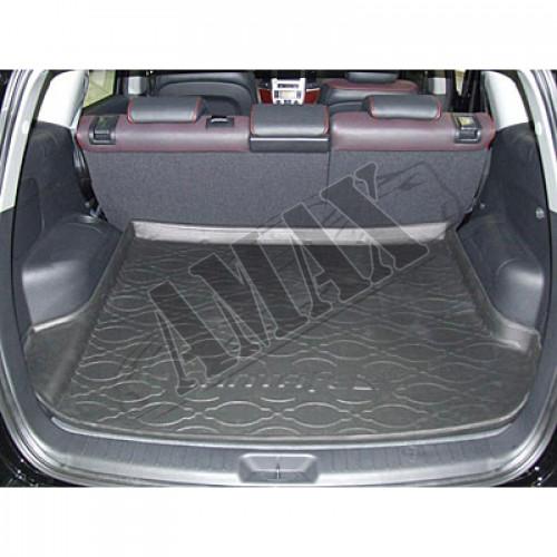 Коврик резиновый в багажник (черный)