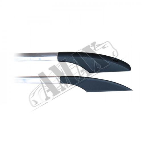 Рейлинги продольные (алюминий + металлические концевики) на Sprinter