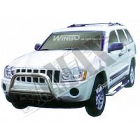 Защитная дуга переднего бампера (кенгурятник) для Jeep Grand Cherokee