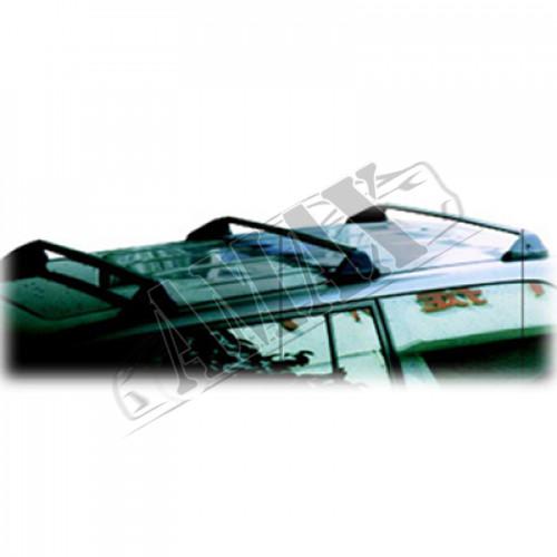 Рейлинги на крышу внедорожника Toyota Land Cruiser 100 (поперечные)