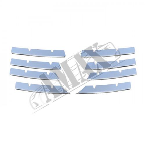 Накладки на решетку радиатора (нержавейка)