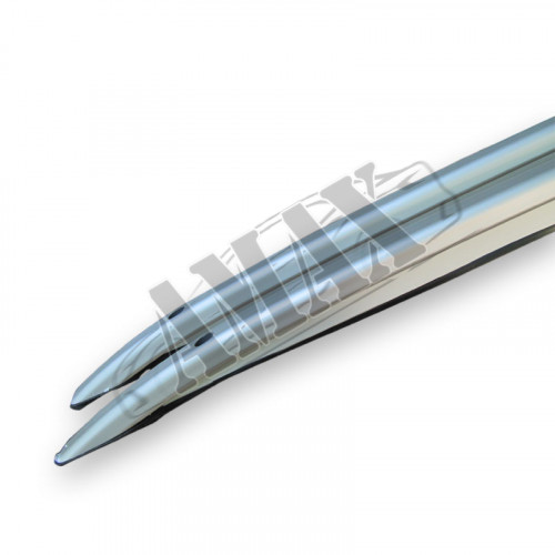 Рейлинги (продольные) серебристые на крышу Тойота Рав 4 (06 - 12)