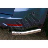 Уголки заднего бампера (одинарные) для Subaru Forester