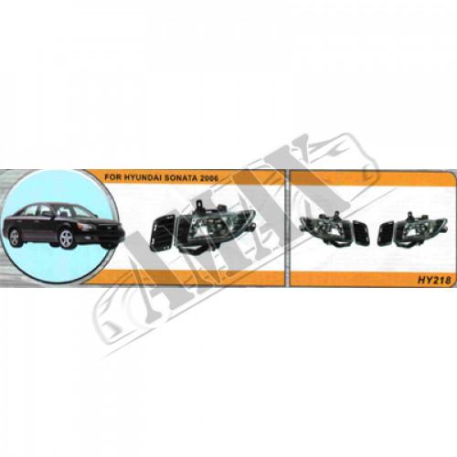 Противотуманные фары (доп. фары) на Hyundai Sonata NF