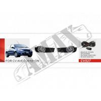 Противотуманные фары (доп. фары) для Chevrolet Aveo (2010-...)