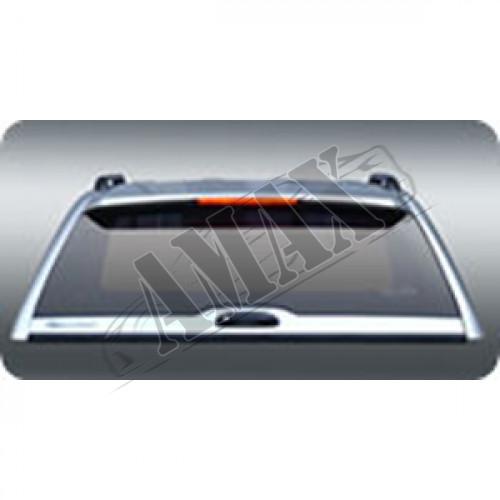 Кунг в багажник пикапа (c перед. раздвижным стеклом)