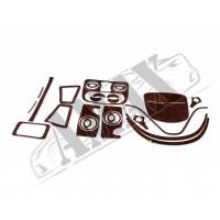 Декор салона (28 элементов) для Fiat Doblo