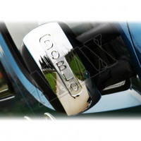 Хром на зеркала для Fiat Doblo (2001 - 2005)