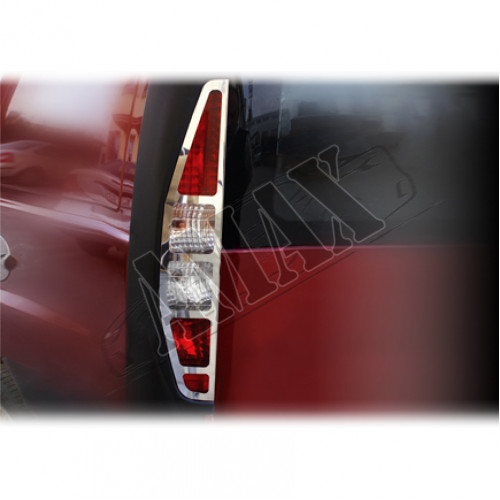 Хром на задние фонари (нержавейка) для Fiat Doblo (2001 - 2005)