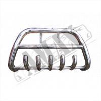 Защитная дуга переднего бампера (кенгурятник) для Fiat Doblo