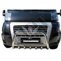 Защитная дуга переднего бампера (кенгурятник) для Citroen Jumper