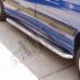 Пороги боковые (площадкой) для Citroen Jumper
