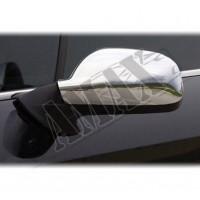 Хром на зеркала для Peugeot 407